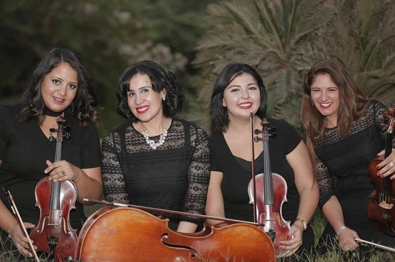Queen's Quartet يحيي حفل افتتاح وختام مهرجان أسوان لأفلام المرأة