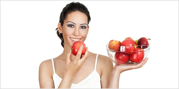 7 فوائد للتفاح على البشرة والشعر