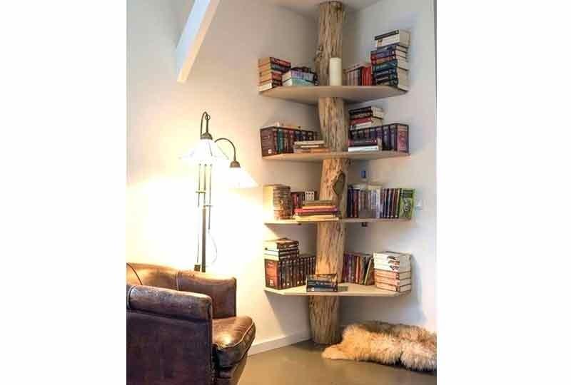 أشكال مكتبات حائط
