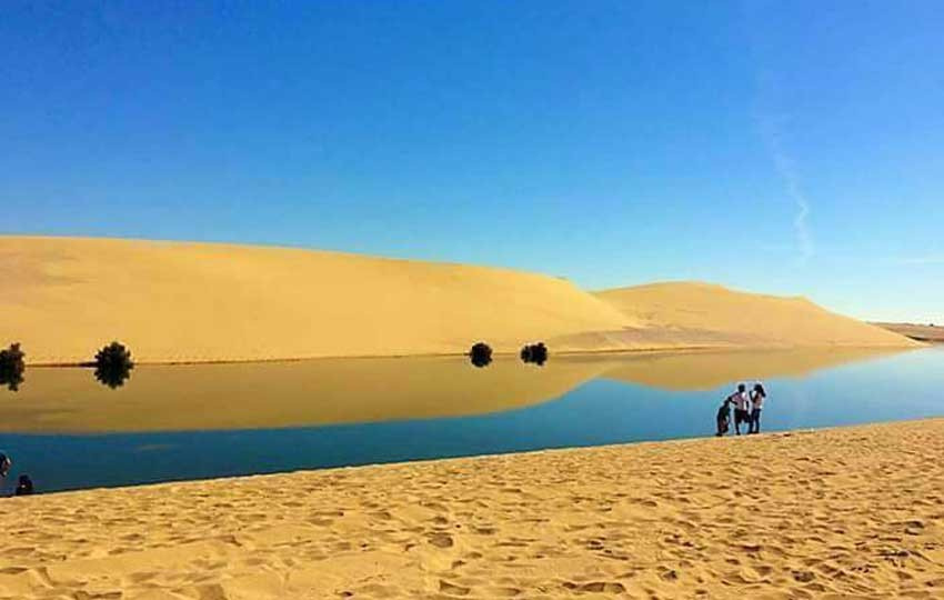 البحيرة المسحورة بوادي الريان