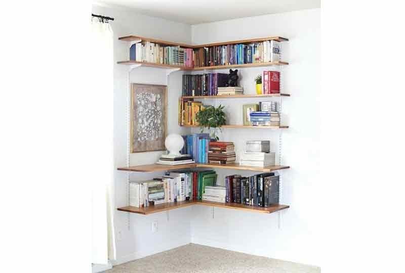 مكتبات حائط منزلية