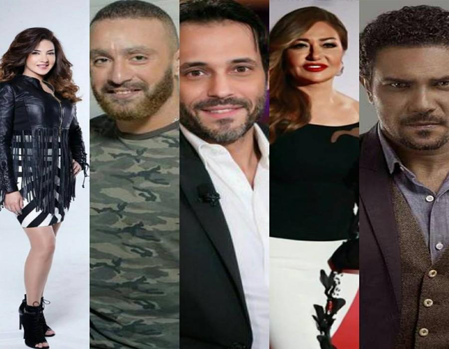 10 نجوم يغيبون عن مسلسلات رمضان 2018