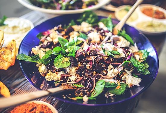 5 وصفات لعشاء صحي وسهل