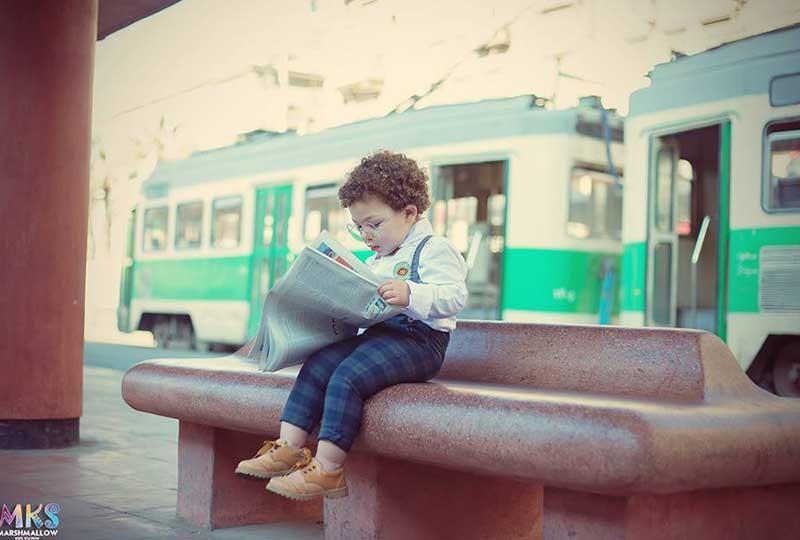 تصوير روان للأطفال