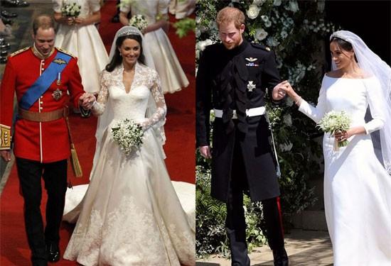 الزفاف الملكي بين كيت ميدلتون وميجان ماركل