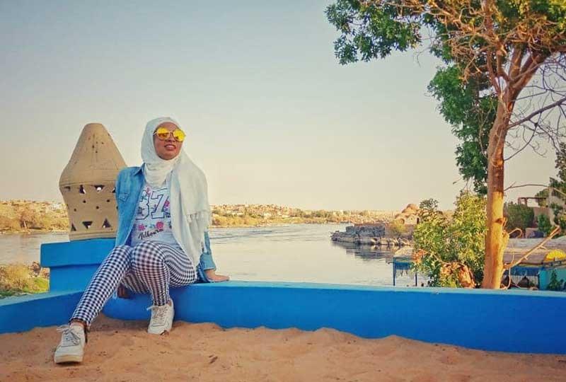 المصورة النوبية روان خالد