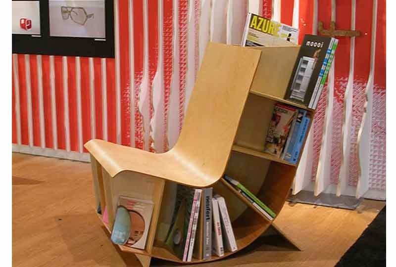 تصميمات لمكتبات منزلية
