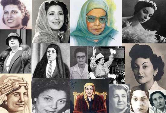 أبرز الرائدات المصريات احتفالا بمئوية يوم المرأة