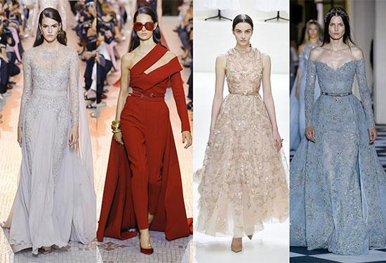 أجمل فساتين خطوبة من عروض أزياء موضة 2019