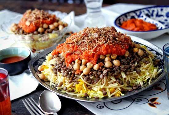 أشهر محلات كشري لتستمتعوا بأكلة مصرية شعبية