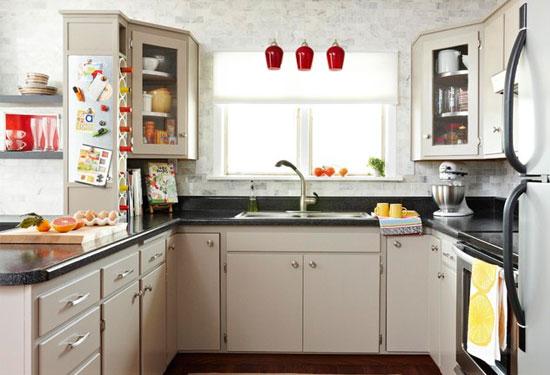 أفكار ديكورات مطابخ صغيرة ستجعل مطبخك يبدو أكبر