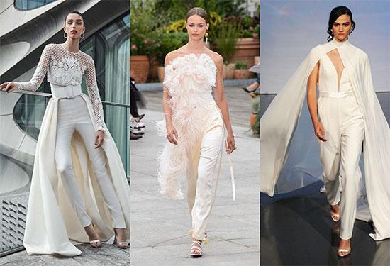 الجمبسوت صيحة فساتين زفاف 2019 للعروس غير التقليدية
