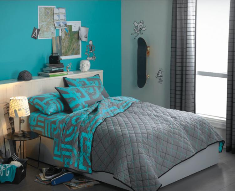 اللون الفيروزي لديكور مودرن يشعرك بالراحة والبهجة