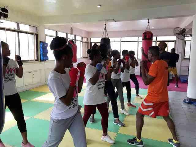 الملاكمة وسيلة النيجيريات لمواجهة العنف الجنسي