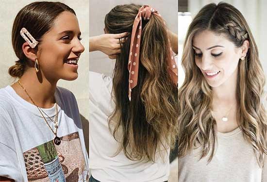 تسريحات شعر بسيطة وعملية لكل يوم