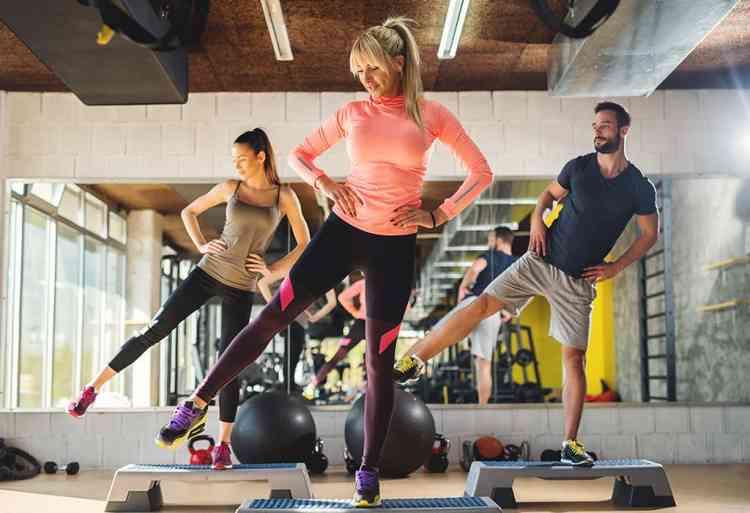 تمارين ايروبكس لشد الجسم وتنشيط عضلة القلب