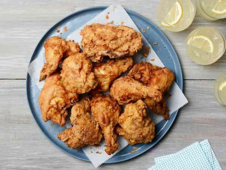 طريقة عمل الدجاج المقلي بوصفات شهية