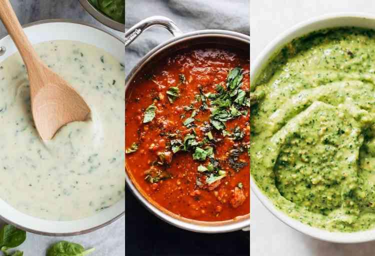 طريقة عمل الصلصة لأكلات شهية مختلفة