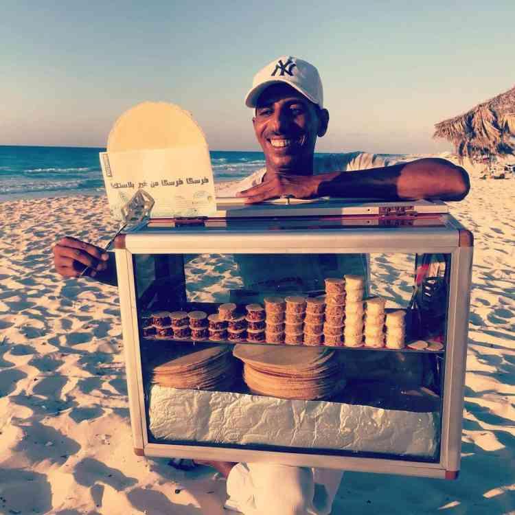 طريقة عمل الفريسكا الحلوى السكندرية اللذيذة