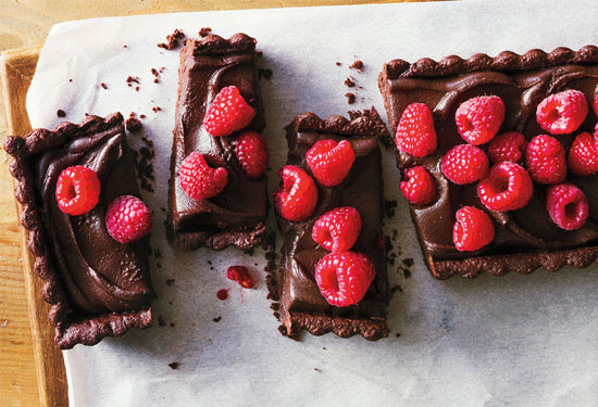 طريقة عمل حلويات بالشوكولاتة سهلة ولذيذة