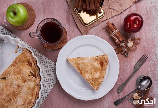 طريقة عمل فطيرة التفاح مع سلمى صالح