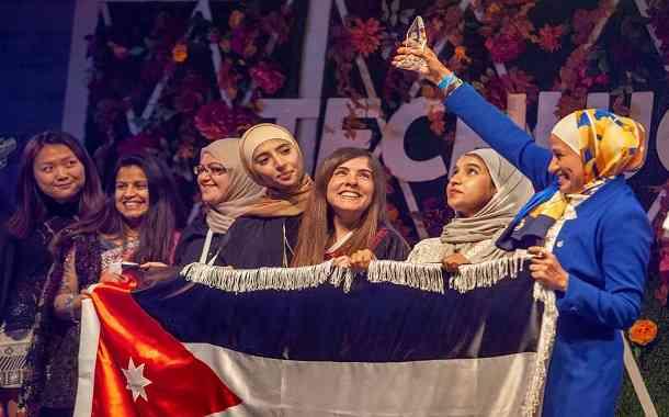 عربيات يحصدن الفوز في أكبر تجمع للنساء بأمريكا
