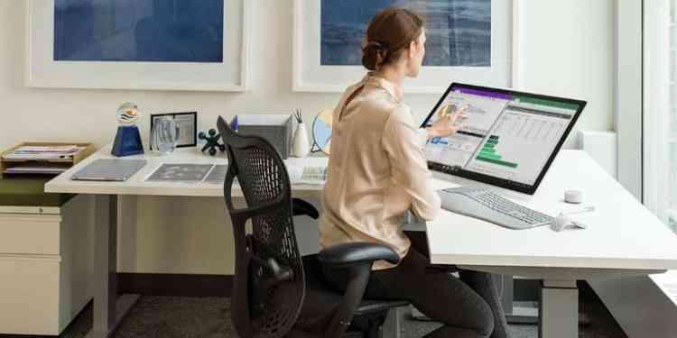 كرسي مكتب طبي لجلسة مريحة للظهر والرقبة