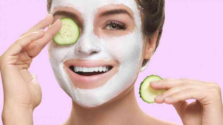 ماسك اللبن البودرة لبشرة خالية من علامات التعب