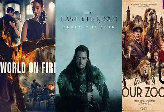 مسلسلات بريطانية تاريخية لدراما إنجليزية لها طابع خاص
