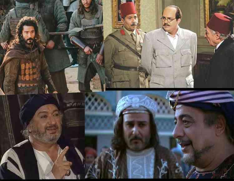 مسلسلات عربية تاريخية توثق قرون مضت.. استمتعوا بها
