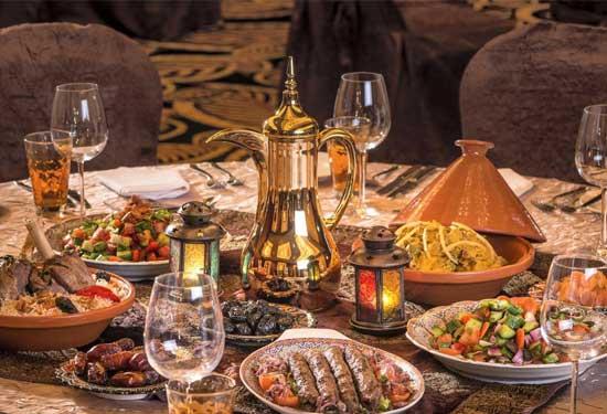 منيو اليوم الثالث عشر من رمضان بوصفات مصرية ومغربية