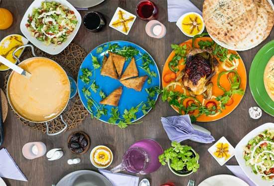 منيو اليوم الثاني عشر من رمضان لأكلات متنوعة وشهية