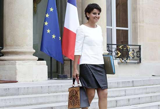 نجاة بلقاسم راعية غنم مغربية أصبحت وزيرة في فرنسا