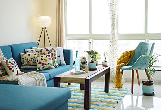 نصائح وأفكار لتنسيق ألوان الديكورات في منزلك