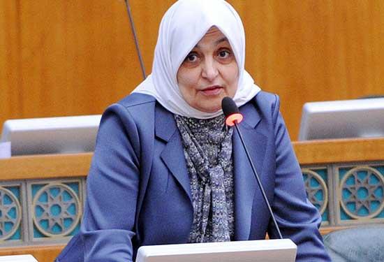 هند الصبيح وزيرة كويتية ضمن أقوى السياسيات العربيات