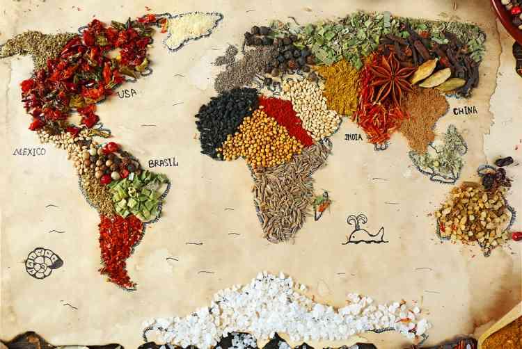 وصفات طبخ من حول العالم لأطباق سريعة ونكهات شهية