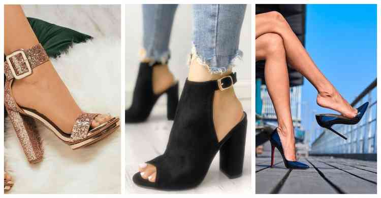10 أنواع من أحذية الكعب العالي تناسب جميع مناسباتك