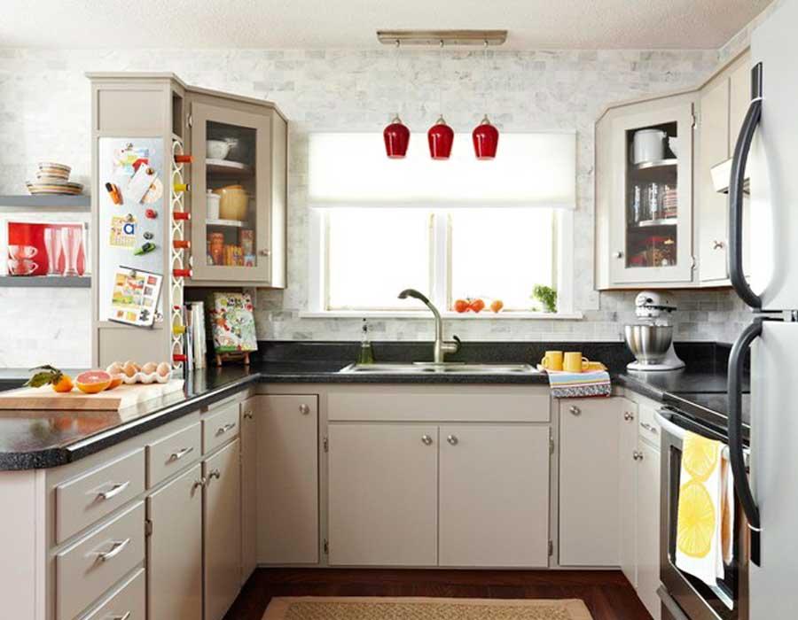 أفكار ديكورات مطابخ صغيرة ستجعل مطبخك يبدو أكبر احكي