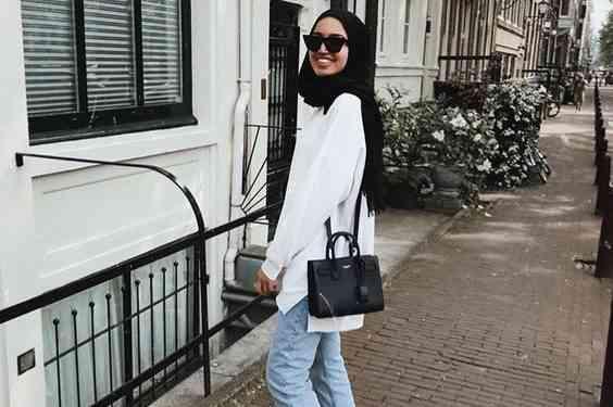 أفكار ملابس محجبات كاجوال لإطلالة عصرية مع الحجاب
