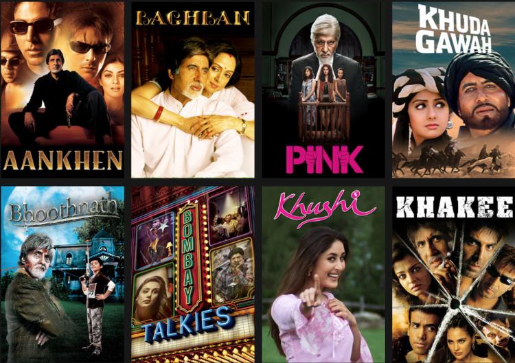 أفلام أميتاب باتشان التي غيرت ملامح السينما الهندية