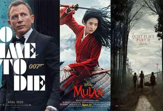 أفلام 2020 الأجنبية والمصرية التي ينتظرها الجميع