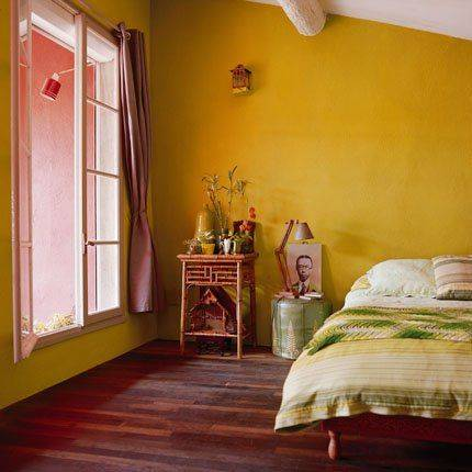 ألوان حوائط غير تقليدية لغرف نوم عصرية ومتناسقة