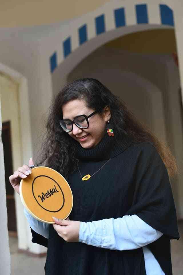 """أميرة عيد تربط الحرف اليدوية بالتراث في """"وصال"""""""
