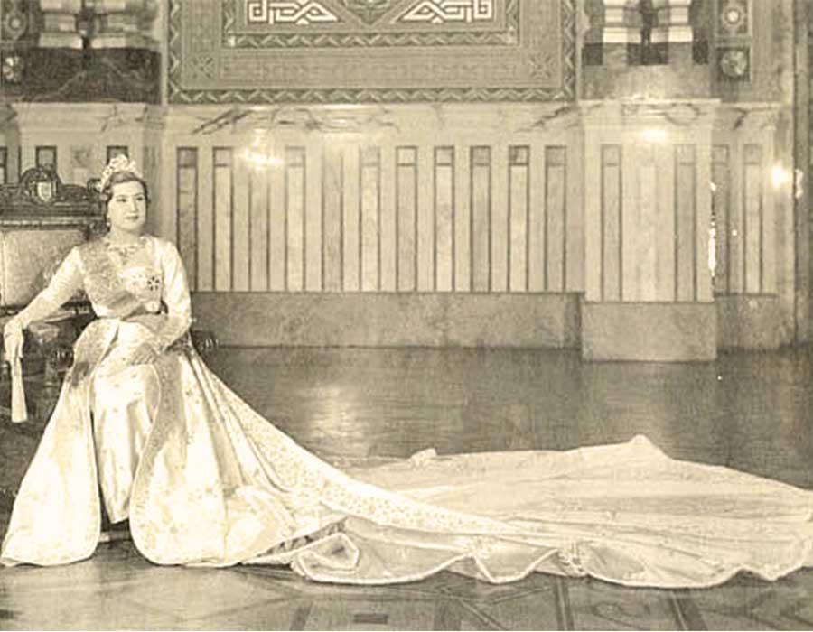 الملكة ناريمان الزوجة الثانية لفاروق وآخر ملكات مصر
