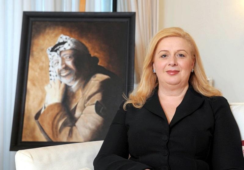 """تعرفوا على """"سهى عرفات"""" زوجة """"أبو عمار"""" الوحيدة"""