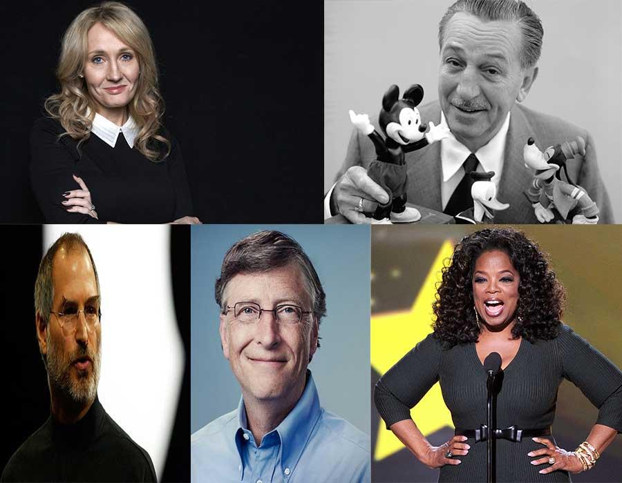 تعرفوا على 5 من أشهر رواد الأعمال حول العالم