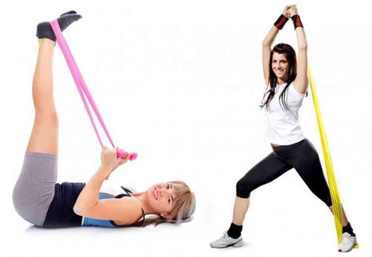 تمارين المقاومة لشد الجسم والحفاظ على صحتك