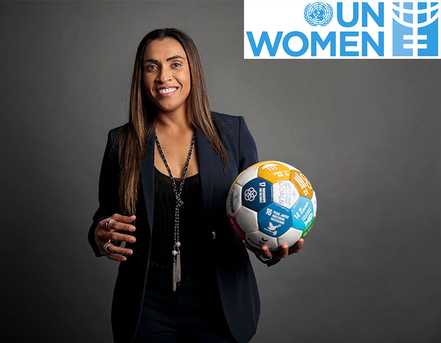 تمكين الفتيات بالرياضة في نشرة الأمم المتحدة للمرأة