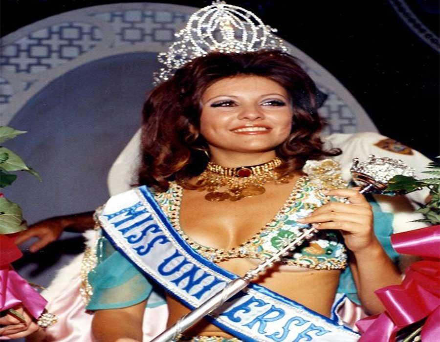 جورجينا رزق العربية الوحيدة صاحبة لقب ملكة جمال الكون