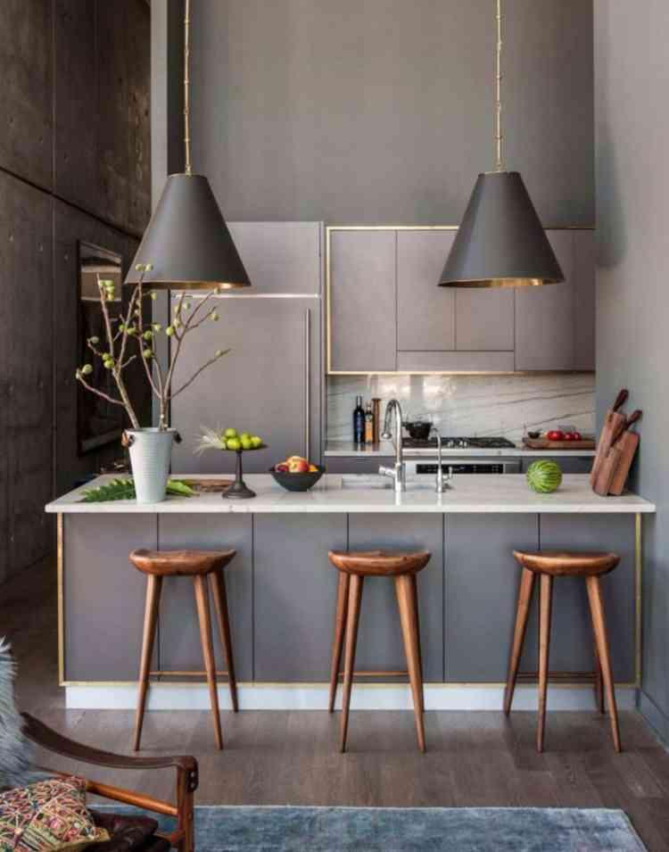 ديكور مطابخ مفتوحة يمنح منزلك لمسات جمالية ناعمة